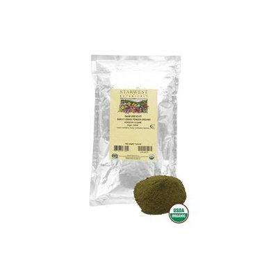 Starwest Botanicals Barley Grass Powder Organic - 1 lb