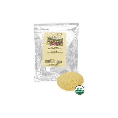 Starwest Botanicals Garlic Granules Organic - 1 lb