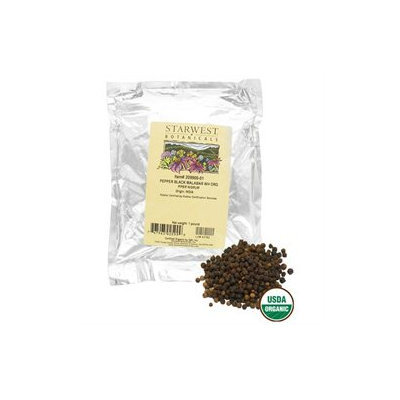 Starwest Botanicals Black Pepper Whole Organic - 1 lb