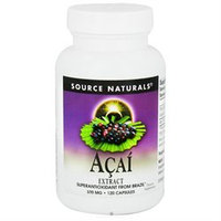 Source Naturals Acai Extract 500 mg 120 capsules