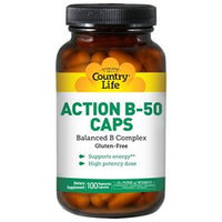 Action B-50 100 Vcap By Country Life Vitamins (1 Each)