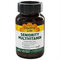 Country Life Vitamins Seniority Multi Vitamins 120 Vegicaps, Country Life