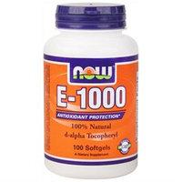 NOW Foods - E-1000 D-Alpha Tocopherol - 100 Softgels