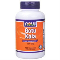 NOW Foods - Gotu Kola 450 mg. - 100 Capsules