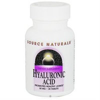 Source Naturals Hyaluronic Acid - 50 mg - 30 Tablets