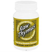 Ultra Glandulars Ultra Raw Thymus 200Mg 60 Tablets