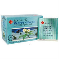 Uncle Lees Tea 0875369 Spice Tea Snappy Ginger - 20 Tea Bags