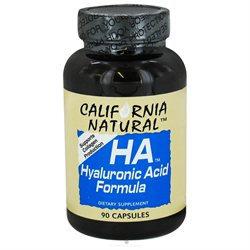 California Natural - HA Hyaluronic Acid Formula - 90 Capsules