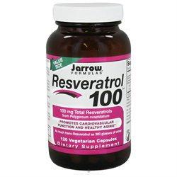 Jarrow Formulas - Resveratrol 100 mg. - 120 Vegetarian Capsules
