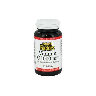 Vitamin C 1000 mg 90 Tablets, Natural Factors