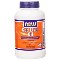 NOW Foods Double Strength Cod Liver Oil Softgels