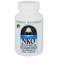 Source Naturals NKO Neptune Krill Oil - 500 mg - 60 Softgels