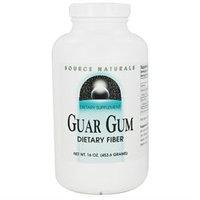 Source Naturals - Guar Gum Dietary Fiber Powder - 16 oz.