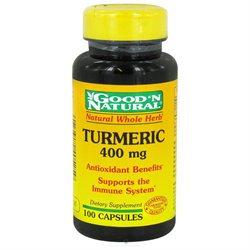 Good 'N Natural - Turmeric Curcumin 400 mg. - 100 Capsules