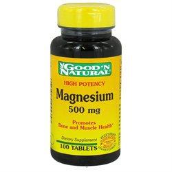 Good 'N Natural - Magnesium High Potency 500 mg. - 100 Tablets