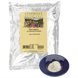 Starwest Botanicals Fullers Earth Powder - 1 lb
