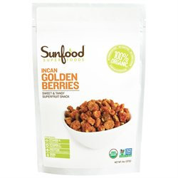 Sunfood Superfoods - Organic Incan Goldenberries - 8 oz.