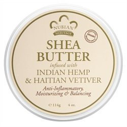 Nubian Heritage - Shea Butter Infused With Indian Hemp & Haitian Vetiver - 4 oz.