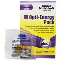 Super Nutrition - Opti-Energy Pack - 30 Packets formerly Opti-Pack