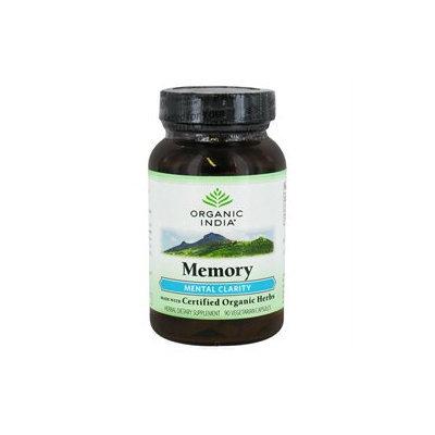 Organic India USA Memory - 90 Veggie Caps - Memory & Brain Support