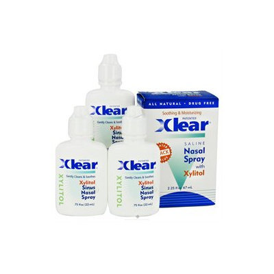 Xlear - Nasal Wash Saline with Xylitol - 3 Packs