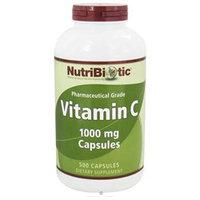 Nutribiotic - Vitamin C Pharmaceutical Grade 1000 mg. - 500 Capsules