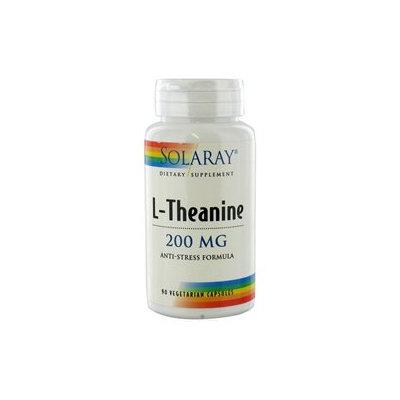 Solaray L-Theanine - 200 mg - 90 Vegetarian Capsules