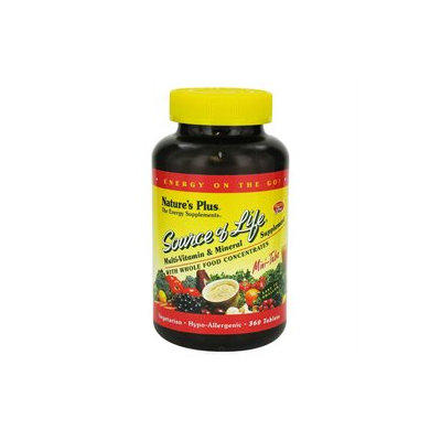 Nature's Plus - Source Of Life Mini-Tabs - 360 Tablets
