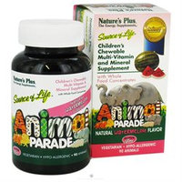 Nature's Plus - Animal Parade Watermelon - 90 Chewable Tablets