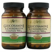 LifeTime Vitamins - Glucosamine & Chondroitin Complex 6060 Twin Pack 900 mg. - 120 Capsules