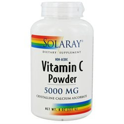 Solaray - Vitamin C Powder Non-Acidic - 8 oz.