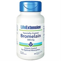Life Extension - Specially Coated Bromelain 500 mg. - 60 Tablets