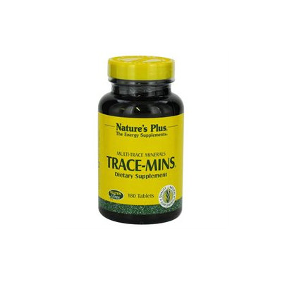 Nature's Plus Trace-Mins Multi-Trace Minerals - 180 Tablets