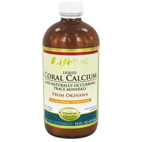 LifeTime Vitamins - Liquid Coral Calcium Orange Vanilla - 16 oz. Formerly Fossilized