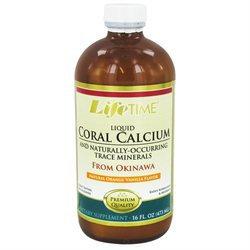 LifeTime Vitamins - Liquid Coral Calcium Orange Vanilla - 16 oz. Formerly Fossilized