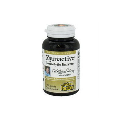 Zymactive Proteolytic Enzymes 90 Tablets, Natural Factors