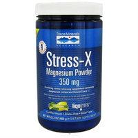 Trace Minerals Research - Stress-X Magnesium Powder Lemon Lime - 23.3 oz.