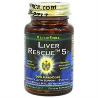 HealthForce Nutritionals - Liver Rescue 4 - 30 Vegetarian Capsules