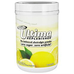 Ultima Health Products Ultima Replenisher Drink Lemonade - 90 Servings - Vegan