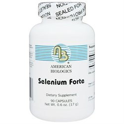 American Biologics Selenium Forte 200 MCG - 90 Tablets - All Other Antioxidants