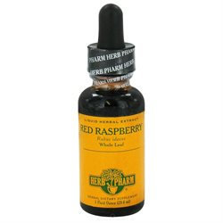 Herb Pharm - Red Raspberry Extract - 1 oz.