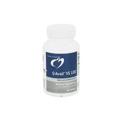 Designs For Health - Q-Avail VS 100 mg. - 60 Softgels