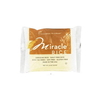 Miracle Noodle - Miracle Shirataki Rice - 8 oz.