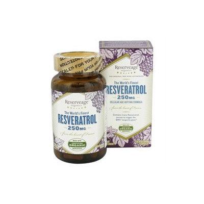 ReserveAge Organics - Resveratrol 250 mg. - 120 Vegetarian Capsules