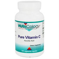 Nutricology/ Allergy Research Group Pure Vitamin C 1000 Mg 100 Cap