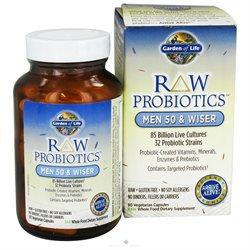 Garden of Life RAW Probiotics Men 50 & Wiser