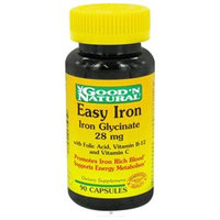 Good 'N Natural - Easy Iron Iron Glycinate 28 mg. - 90 Capsules