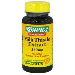 Good 'N Natural - Milk Thistle 250 mg. - 100 Capsules