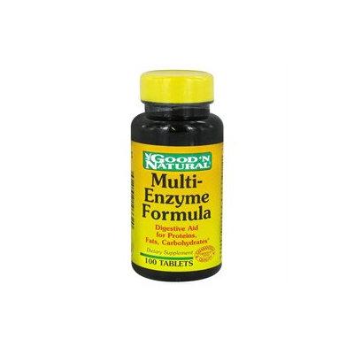 Good 'N Natural - Multi-Enzyme Formula - 100 Tablets
