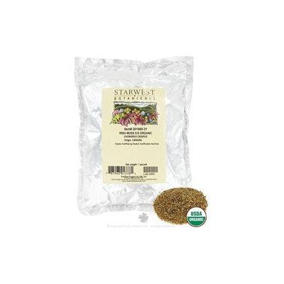 Starwest Botanicals - Bulk Irish Moss C/S Organic - 1 lb.